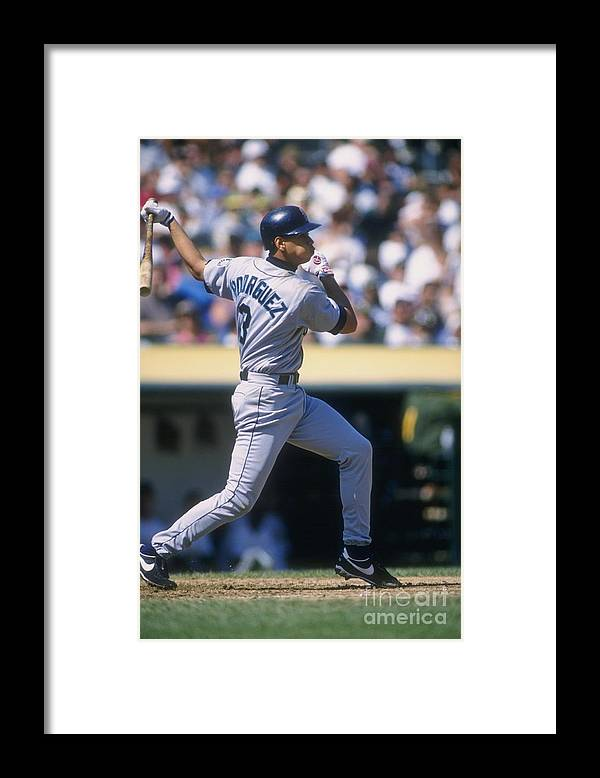 People Framed Print featuring the photograph Alex Rodriguez by Otto Greule Jr