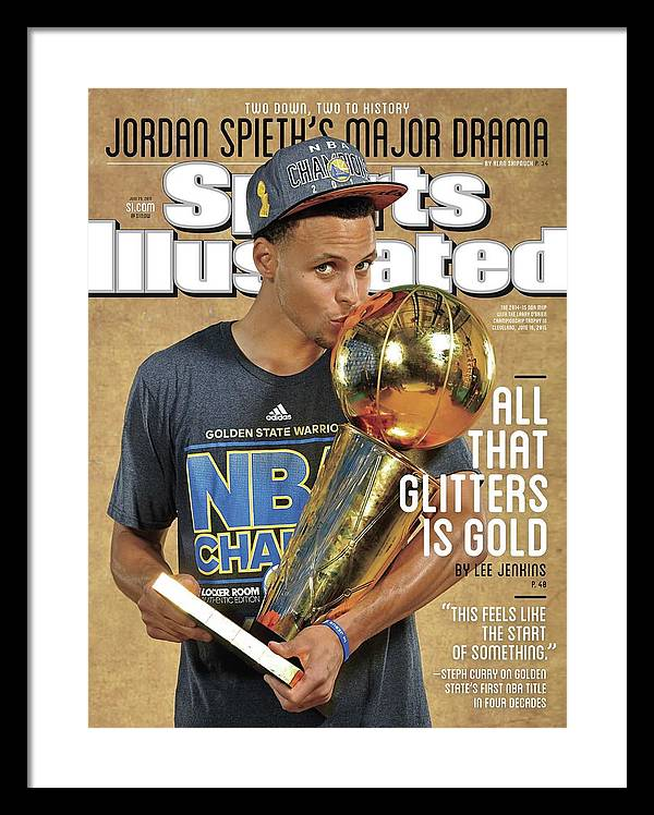 All That Glitters Is Gold Sports Illustrated Cover Framed Print