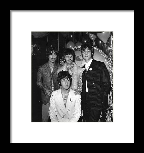 Rock Music Framed Print featuring the photograph All You Need by Evening Standard