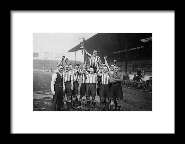 Young Men Framed Print featuring the photograph Amateur Cup Win by J A Hampton