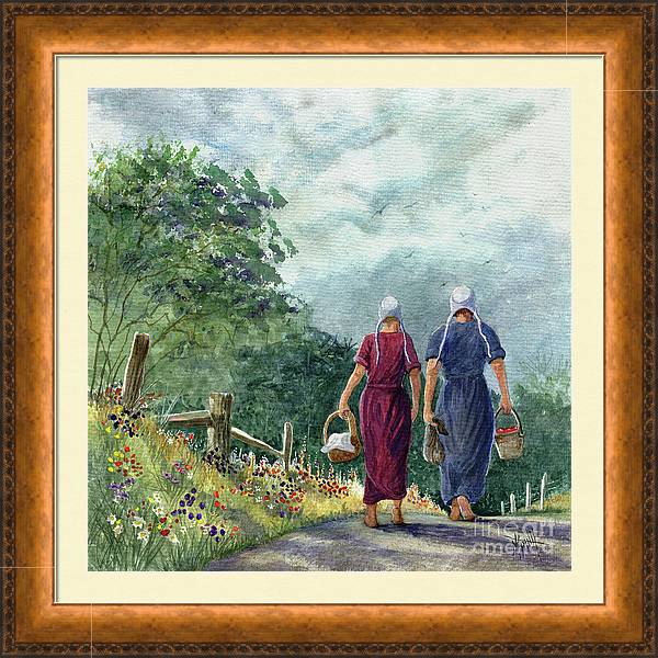 Amish Way of Life - Bearing Gifts by Marilyn Smith