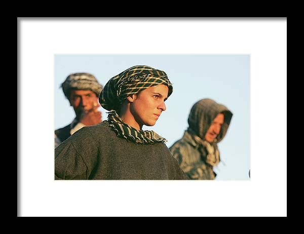 People Framed Print featuring the photograph Ancient Treasures Of Afghanistan by John Moore