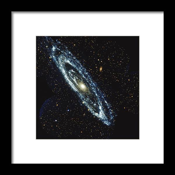 Outdoors Framed Print featuring the photograph Andromeda Galaxy by Stocktrek