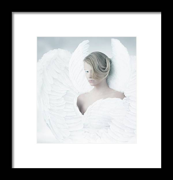 People Framed Print featuring the photograph Angel by Colin Anderson