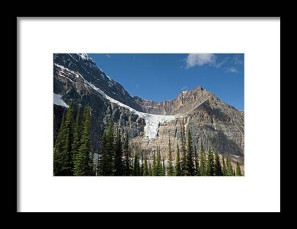 Scenics Framed Print featuring the photograph Angel Glacier by Jim Julien / Design Pics