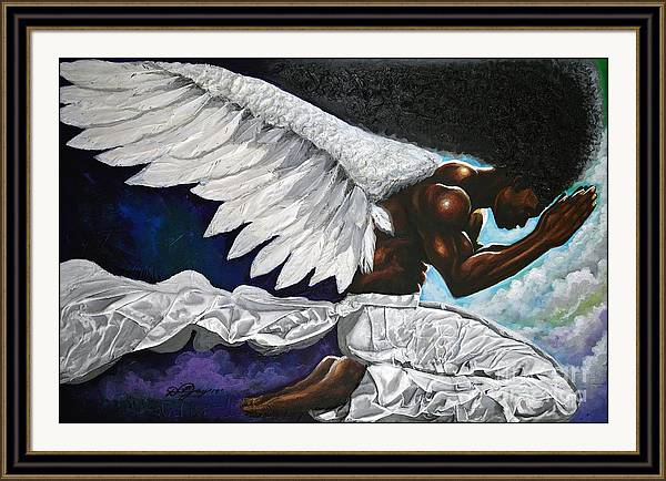 Angel of Humility by The Art of DionJa'Y