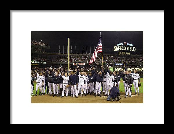 Of Anaheim Framed Print featuring the photograph Angels V Mariners X by Otto Greule Jr