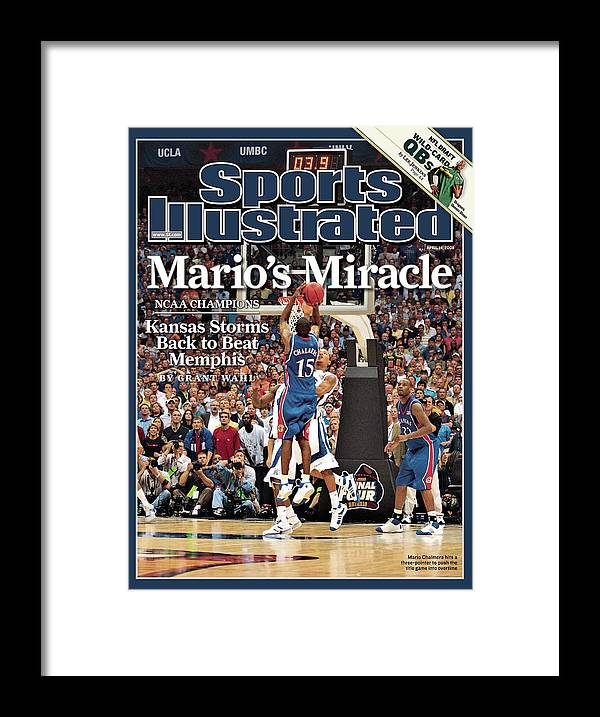 Magazine Cover Framed Print featuring the photograph April 14, 2008 Sports Illustrate Sports Illustrated Cover by Sports Illustrated