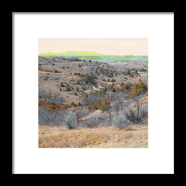North Dakota Framed Print featuring the photograph April Day Reverie by Cris Fulton