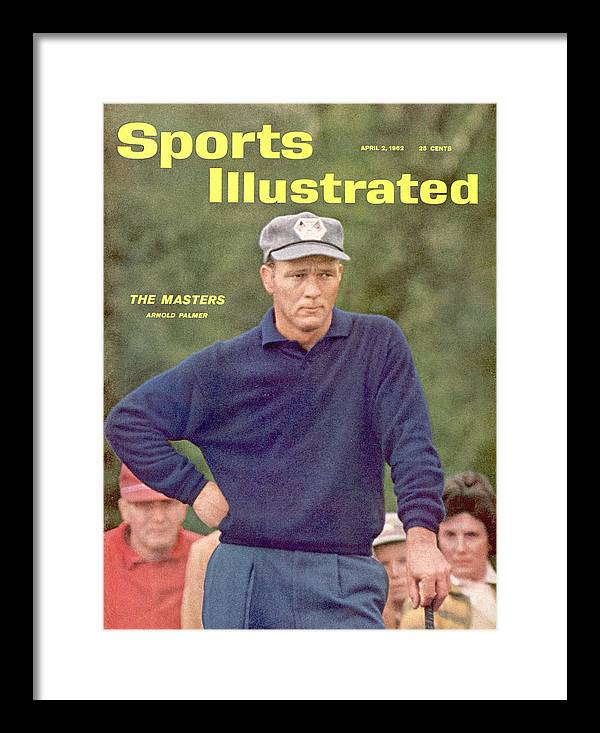 Sports Illustrated Framed Print featuring the photograph Arnold Palmer, 1962 Baton Rouge Open Sports Illustrated Cover by Sports Illustrated