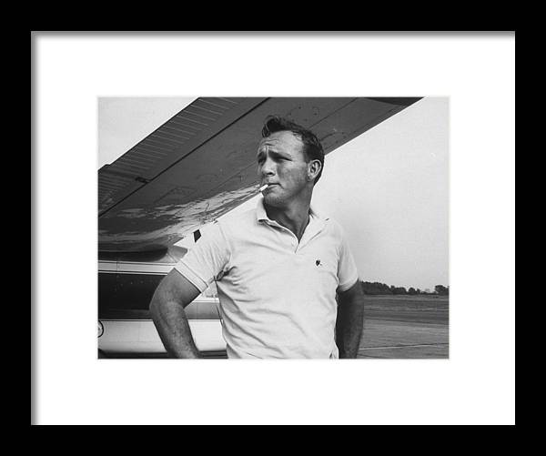 Timeincown Framed Print featuring the photograph Arnold Palmer by John Dominis