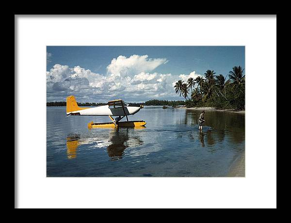 People Framed Print featuring the photograph Arriving In Style by Slim Aarons