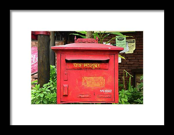 Asia Framed Print featuring the photograph Asian Mail Box by David Lee Thompson