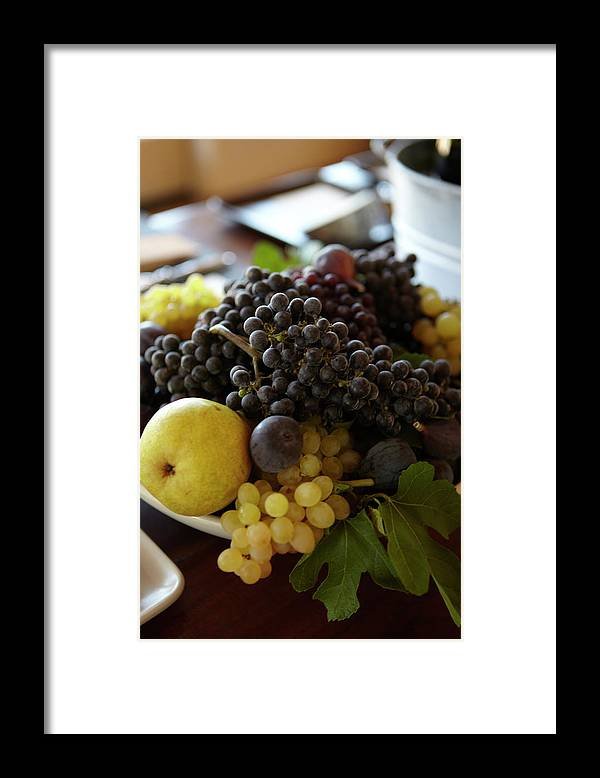Healthy Eating Framed Print featuring the photograph Assorted Fruit by James Baigrie