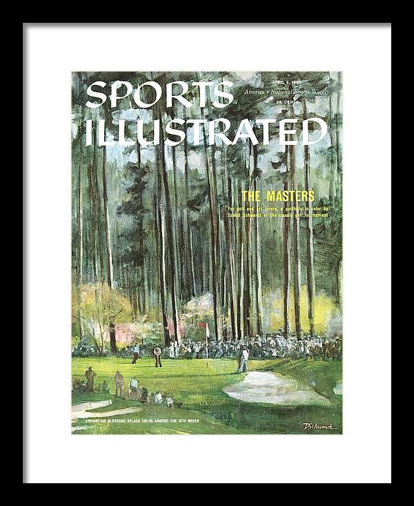 Magazine Cover Framed Print featuring the photograph Augusta National Golf Course, 1960 Masters Preview Sports Illustrated Cover by Sports Illustrated