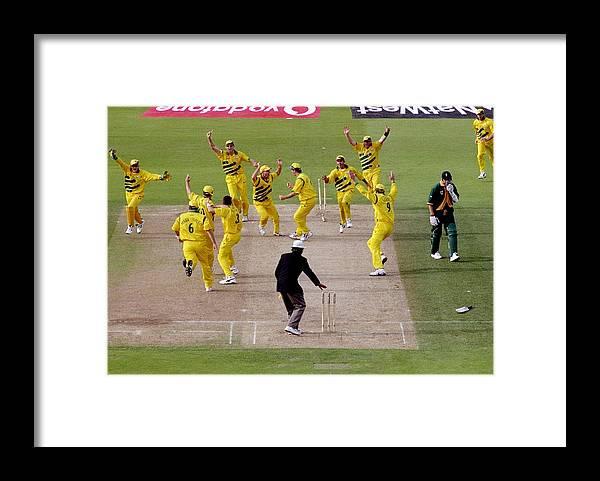 England Framed Print featuring the photograph Australia Celebrate by Ross Kinnaird
