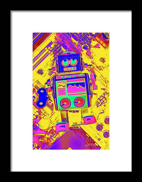 Toy Framed Print featuring the photograph Automated Nostalgia by Jorgo Photography - Wall Art Gallery