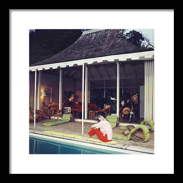 Babe Paley Framed Print featuring the photograph Babe Paley by Slim Aarons