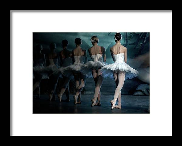Expertise Framed Print featuring the photograph Ballerinas by Tunart
