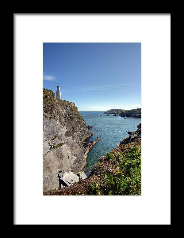 Tranquility Framed Print featuring the photograph Baltimore Beacon by Keith Marshall