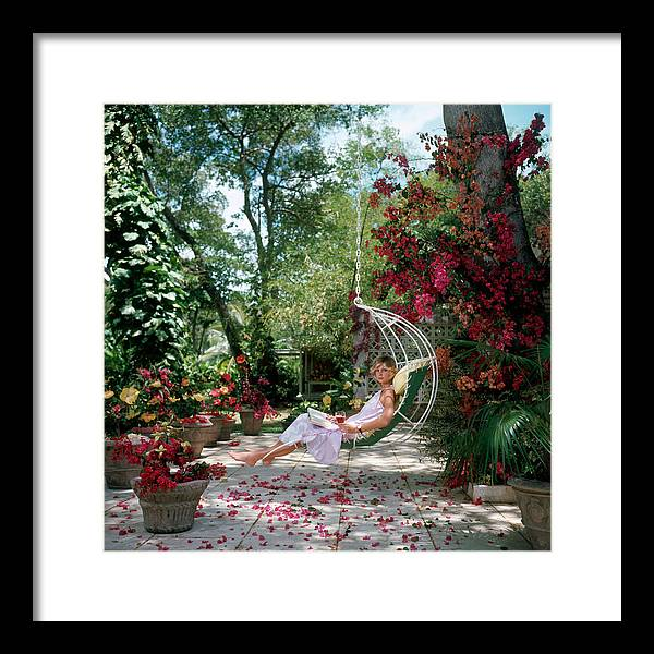Barbados Framed Print featuring the photograph Barbados Bliss by Slim Aarons
