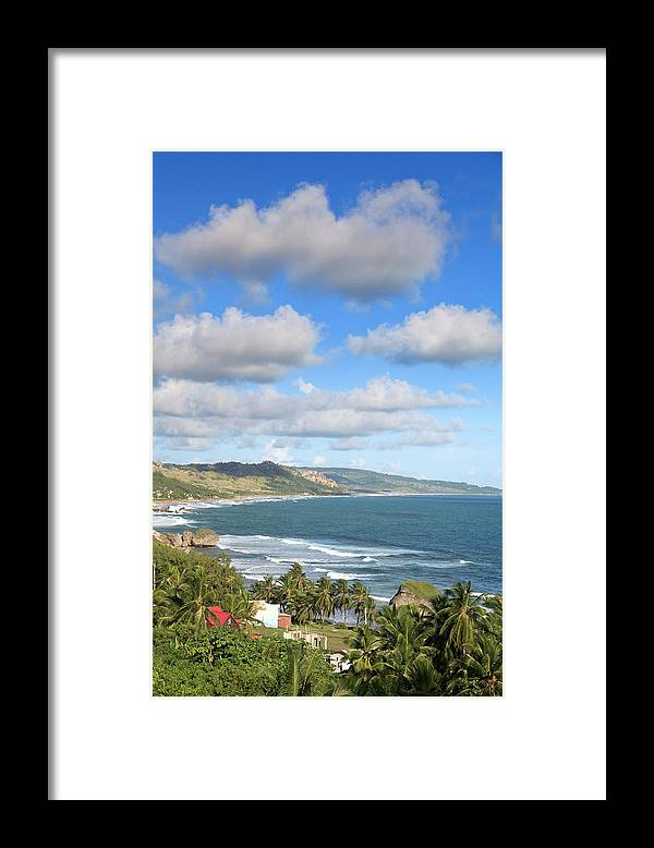 Scenics Framed Print featuring the photograph Bathsheba Bay, Barbados by Michele Falzone