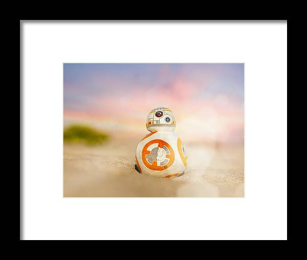 Star Wars Framed Print featuring the photograph BB8 by Hsin Cheu