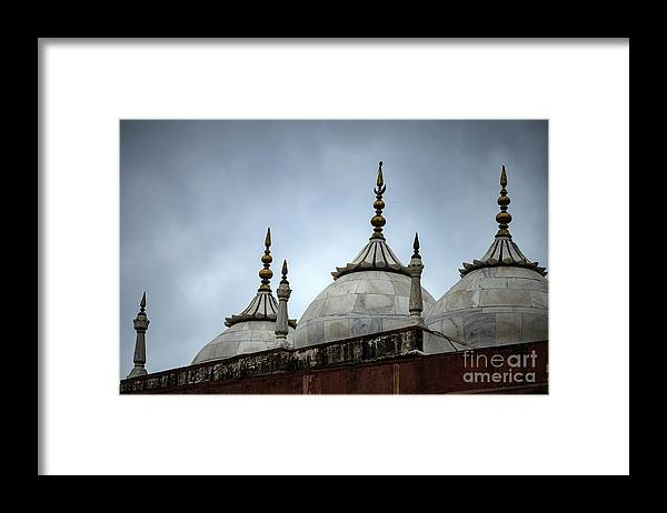 Royalty Framed Print featuring the photograph Beautiful Architecture Mughal Empire by Skaman306
