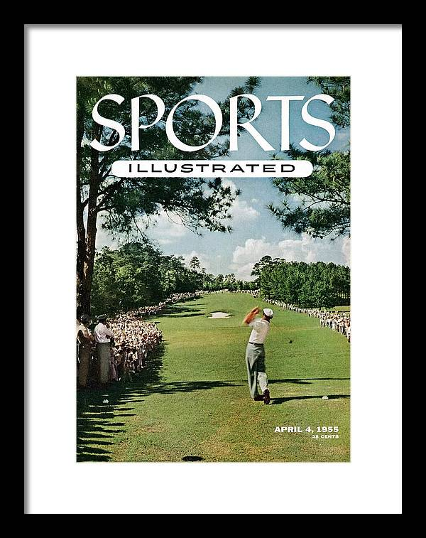 Magazine Cover Framed Print featuring the photograph Ben Hogan, 1954 Masters Tournament Sports Illustrated Cover by Sports Illustrated