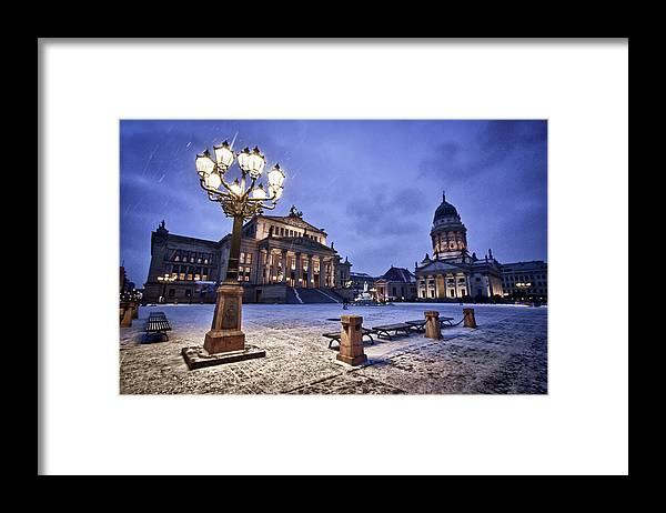 Steps Framed Print featuring the photograph Berlin Gendarmenmarkt by Www.flickr.com/bslmmrs