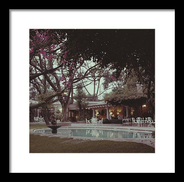 1950-1959 Framed Print featuring the photograph Bermuda Style by Slim Aarons