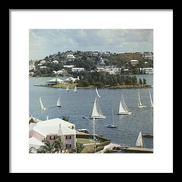 1950-1959 Framed Print featuring the photograph Bermuda View by Slim Aarons