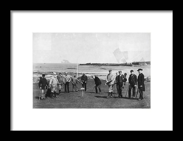 Scotland Framed Print featuring the photograph Berwick Links by James Valentine