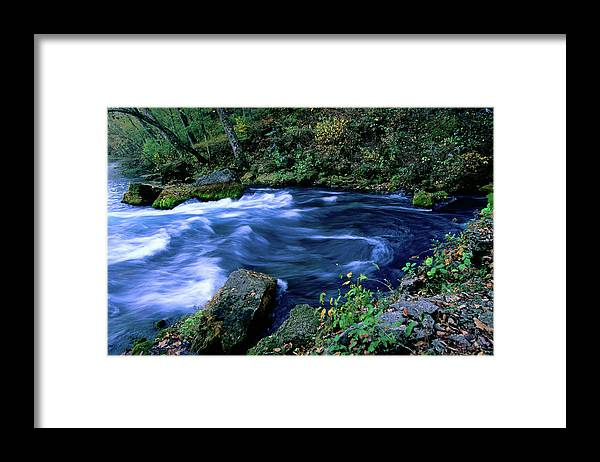 Scenics Framed Print featuring the photograph Big Spring, Ozarks National Scenic by John Elk Iii