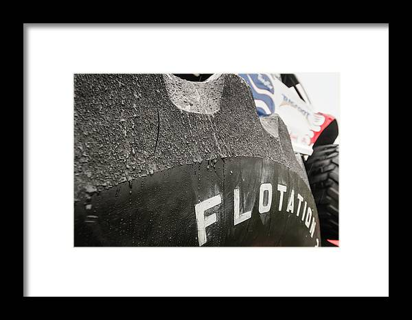 Tire Framed Print featuring the photograph Bigfoot's Big Foot by Jim Love
