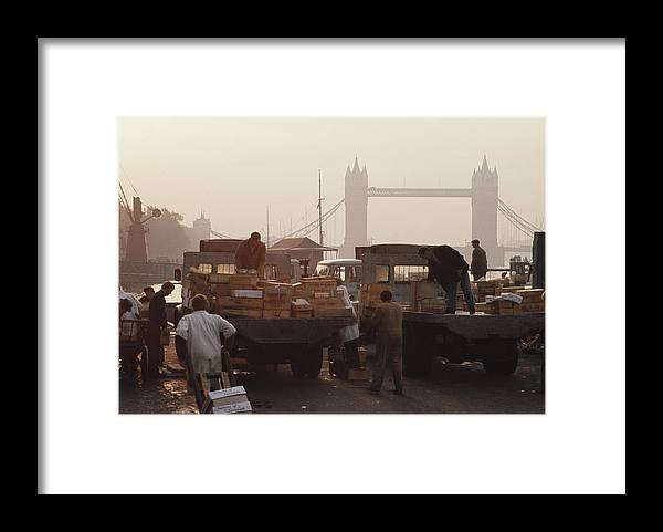 Trading Framed Print featuring the photograph Billingsgate Market by Epics