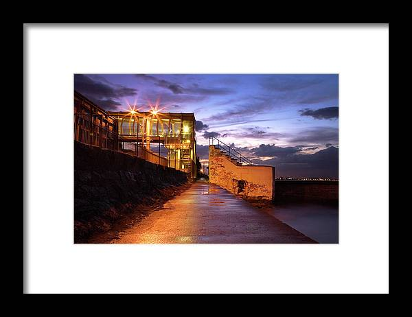Tranquility Framed Print featuring the photograph Blackrock After Rain by Paula Banks