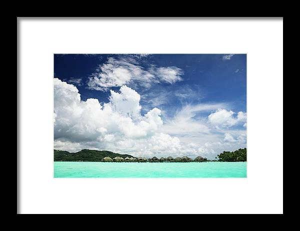 Standing Water Framed Print featuring the photograph Blue Lagoon Holiday Luxury Resort by Mlenny