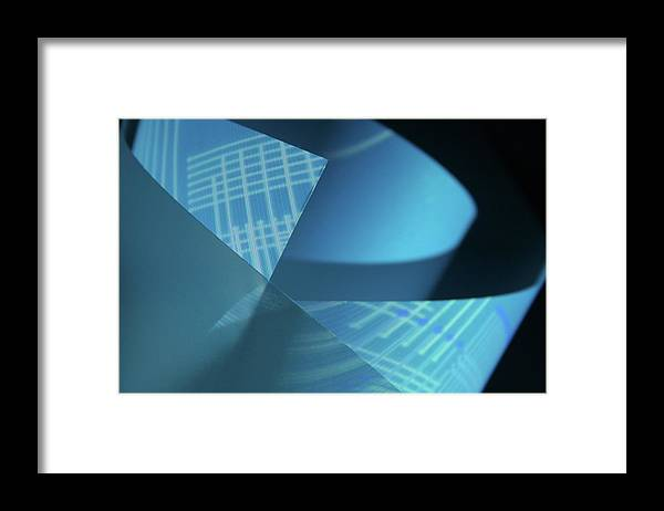 Curve Framed Print featuring the photograph Blueprint by Penfold
