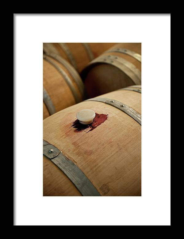 Spanish Basque Country Framed Print featuring the photograph Bodegas Ysios Wine Cellar, Detail by Maremagnum
