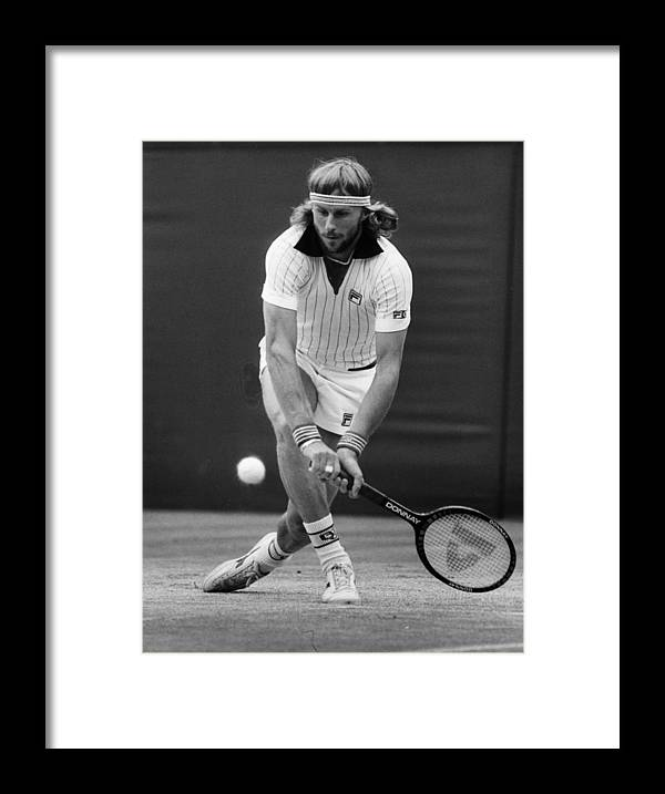 1980-1989 Framed Print featuring the photograph Borg Loses by Rob Taggart