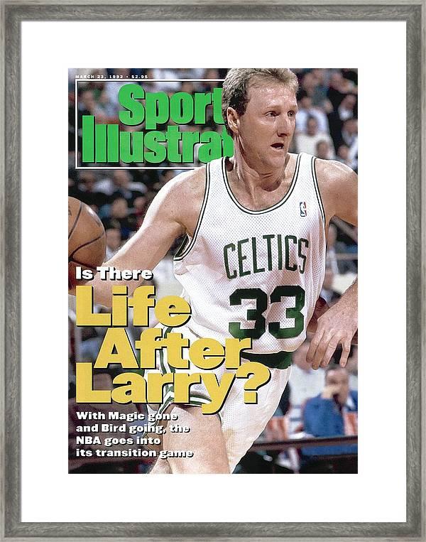 7 Basketball LARRY BIRD BOSTON CELTICS Poster Photo Sports Print 2 x 3 FEET