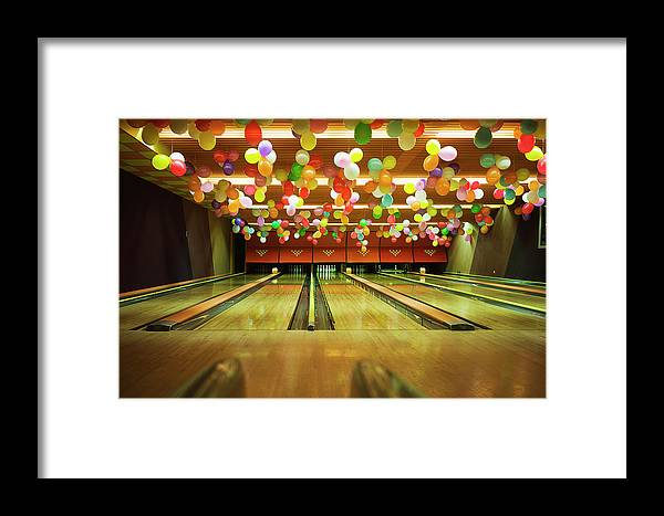 Tranquility Framed Print featuring the photograph Bowling by Olive