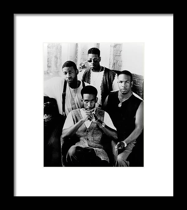 Expertise Framed Print featuring the photograph Boyz II Men by Afro Newspaper/gado