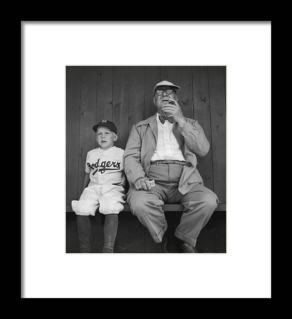 Timeincown Framed Print featuring the photograph Branch Rickey & Family by George Silk