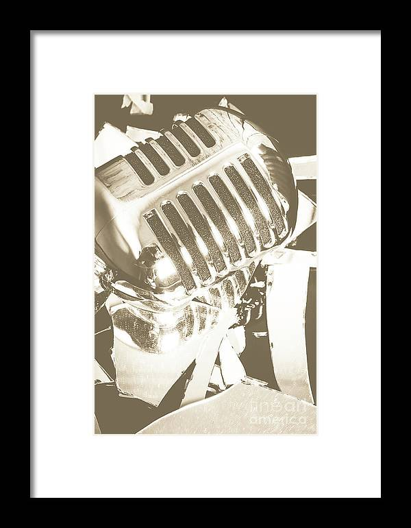 Musical Framed Print featuring the photograph Breaking The Set by Jorgo Photography - Wall Art Gallery