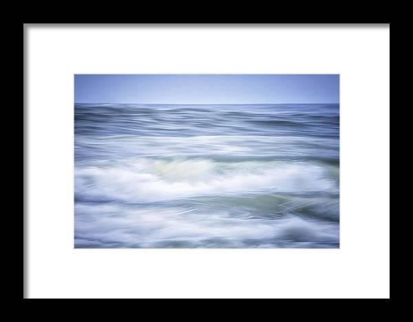 California Framed Print featuring the photograph Brush Strokes Wave Art by Marnie Patchett