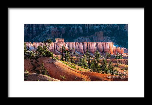 Southwest Framed Print featuring the photograph Bryce Canyon by Oscity