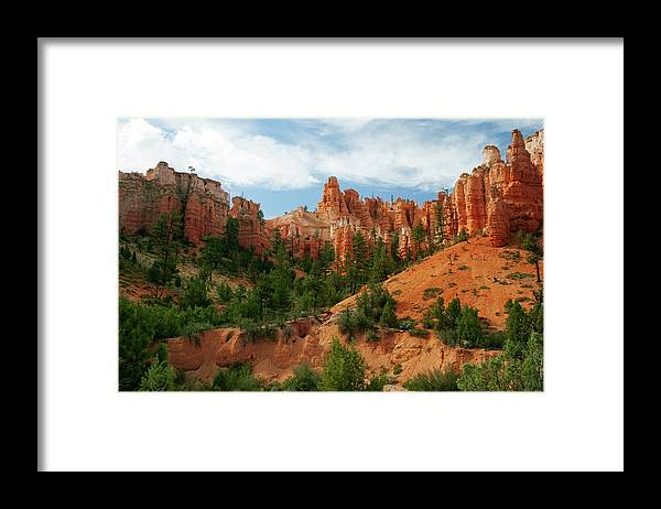 Scenics Framed Print featuring the photograph Bryce Canyon by Wsfurlan