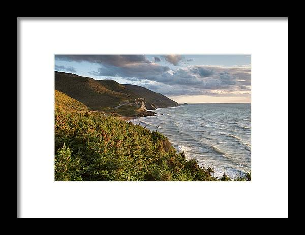 Scenics Framed Print featuring the photograph Cabot Trail Scenic by Shayes17